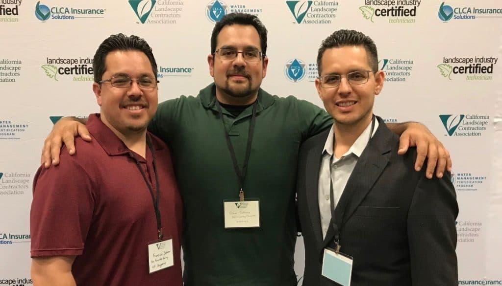 Salazar brothers at CLCA Leadership Conference 2018